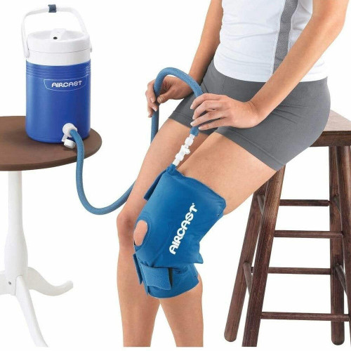 AirCast Cryo Cuff IC Motorized Cooler with Knee Wrap