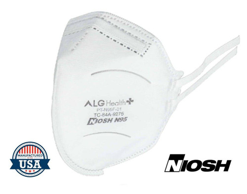 ALG Health Patriot N95 Medical Face Mask NIOSH Approved