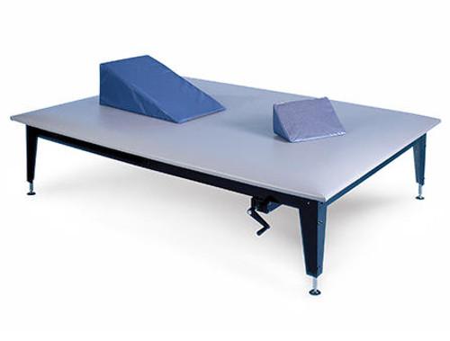 Hausmann Hydraulic Mat Platform Table w/ Hand Crank