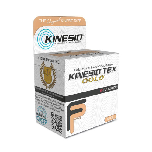 Kinesio Tape Kinesio Tex Gold Finger Print Revolution Tape 2 x 16.4