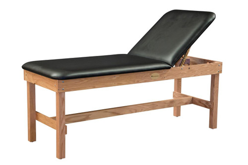 Dynatronics Dynatronics Premium Oak Liftback Treatment Table