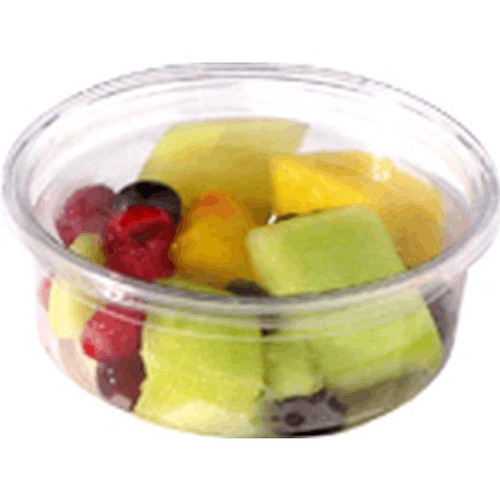 CW208 Round Deli Container 8 Oz Clear