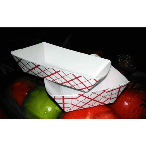 SQP 8702 #200 Paper Food Trays 2 lbs