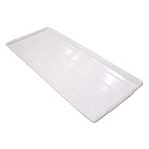 "Plastic Food Tray 10"" x 30"" White"
