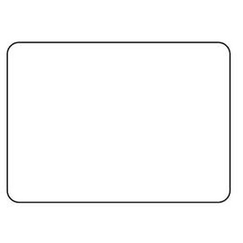 Globe 60mm X 43mm Blank Scale Label