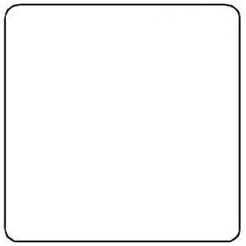 Ishida 64mm X 59mm Blank Label for Ishida Scales