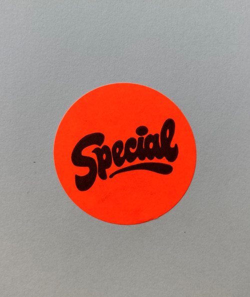 """SPECIAL"" 1.5 Inch Round Label"