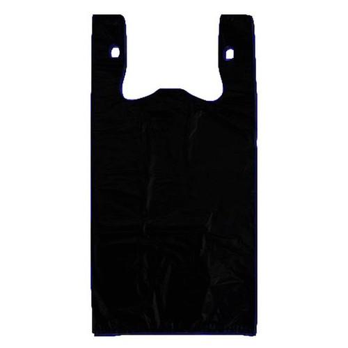 Jumbo Plastic Shopping Bag Black 18 X 8 X 32