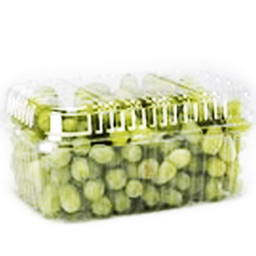 Clear Grape Container With Tripple Lock