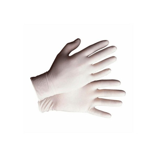 Safety Zone GRDR-MD-1-T Lightly Powdered Latex Glove Medium 5 Mil