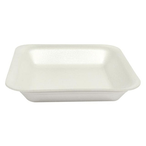 Genpak 1001 #1 Supermarket Food Tray White