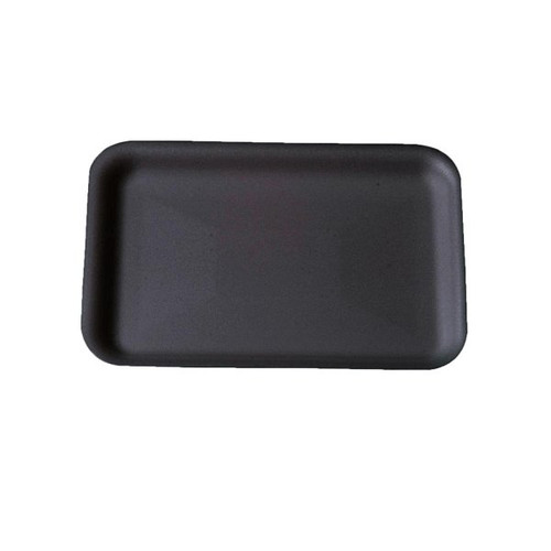 Genpak 1002 #2 Supermarket Food Tray Black