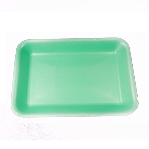Genpak 1002 #2 Supermarket Food Tray Green