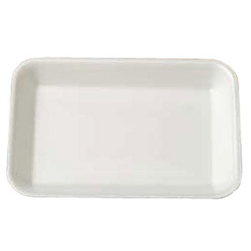 Genpak 1002 #2 Supermarket Food Tray White