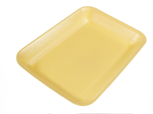 Genpak 1002 #2 Supermarket Food Tray Yellow