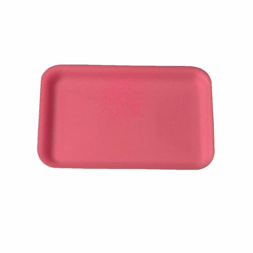 Genpak 1002S #2S Supermarket Food Tray Rose