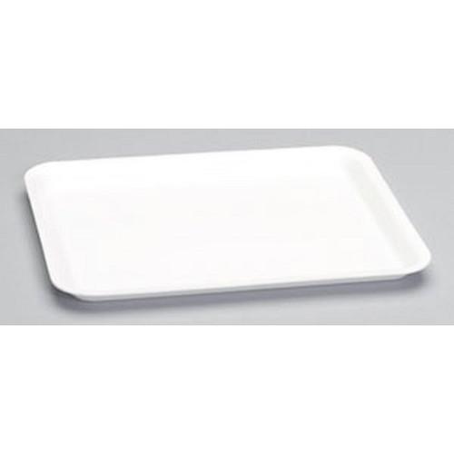 Genpak 1012S #12S Supermarket Food Tray White