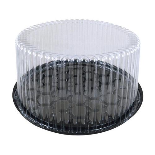 "Wilkinson 9"" Cake Display Container 2-3Layer Black"