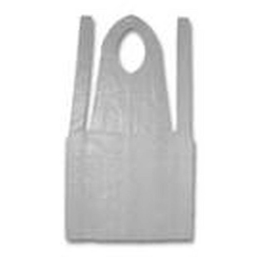 Disposable Poly Apron 24 x 42 White