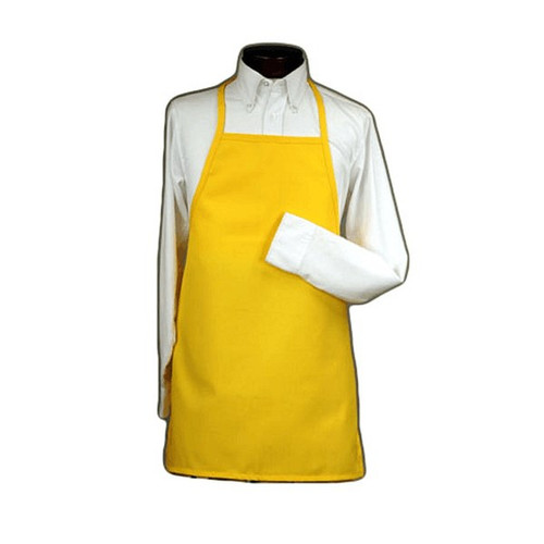 Safety Zone DAV35-35X50 PVC Apron 35 x 50 Yellow With String Ties