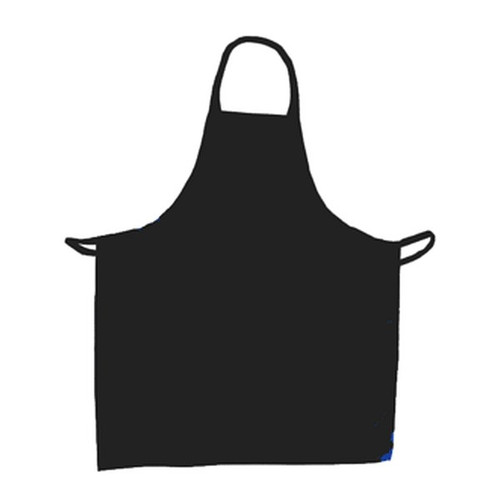 "UPDATE BAP-BK Cotton Apron 33"" x 28"" Black"