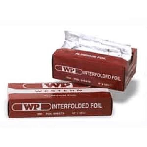 Western Plastic Foil Wrap Sheet 12 x 10.75 Inch Interfolded