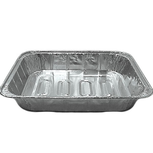 Western Plastic 5122 1/2 Size Foil Steam Table Pan Medium