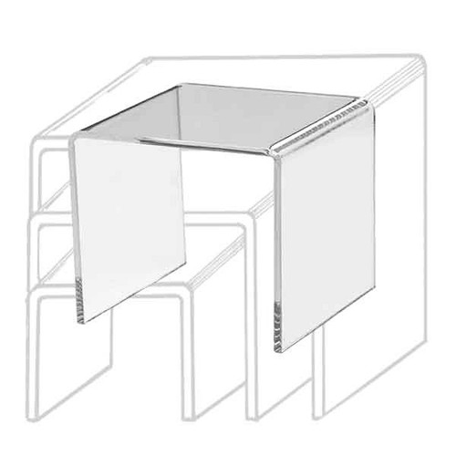 Clear Acrylic Display Riser 4 x 4 x 4