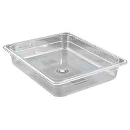 UPDATE PCP-502 Half Size 4.5 Qt. Food Pans Clear