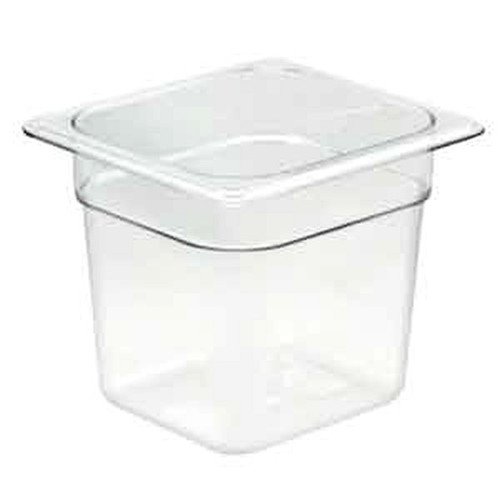 UPDATE PCP-166 SIXTH SIZE Food Pans Clear 2.75 qt