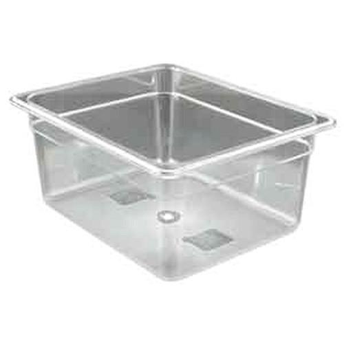 UPDATE PCP-506 Half Size 11 Qt. Food Pans Clear