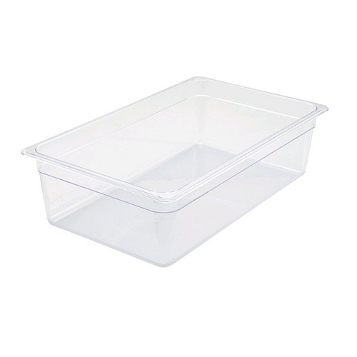 UPDATE PCP-1006 Full Size 22 Qt. Food Pans Clear