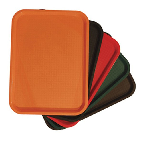 """UPDATE FFT-1014RD Red Fast Food Tray 10"""" x 14"""""""