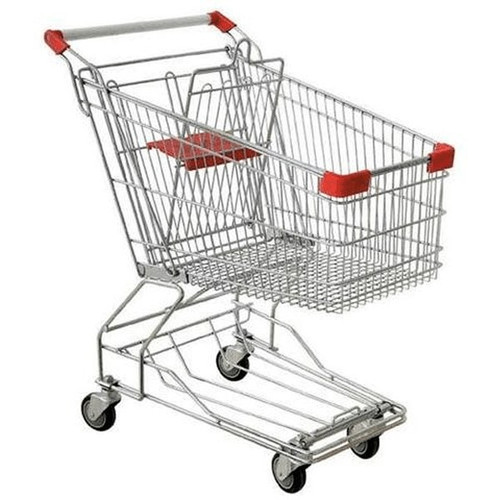 Durable Metal Shopping Cart Big+Z2302