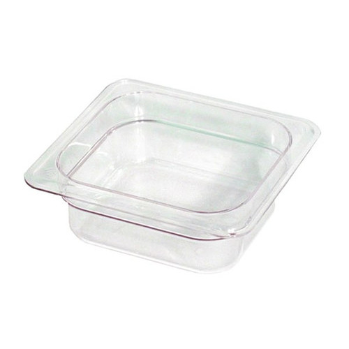 UPDATE PCP-162 Sixth Size Food Pans Clear 1-3/8 qt