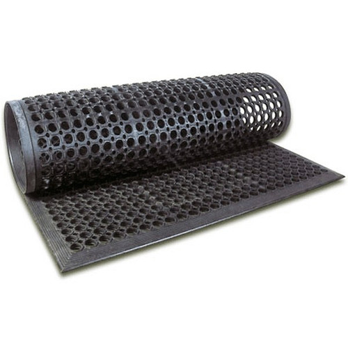 "WINCO RBM-35K Rubber Floor Mat36"" x 60"""