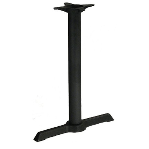 H&D BS2205 Metal Table Base 22 Inch x 5 Inch