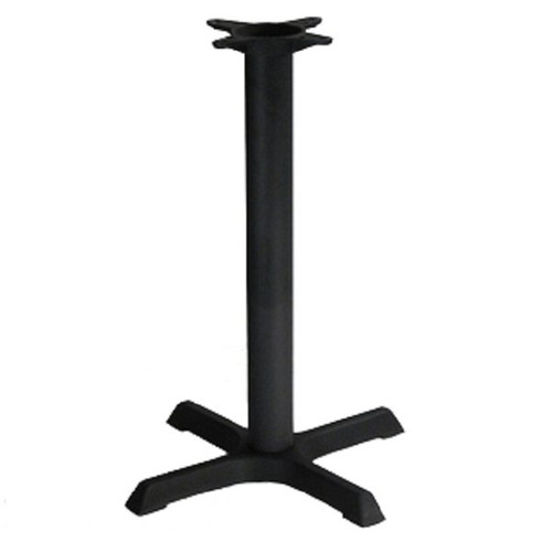 H&D BS2222 Metal Table Base 22 Inch x 22 Inch