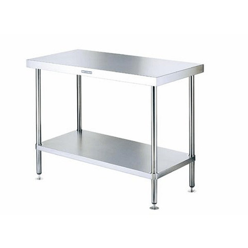 """KTI SG-3096 30"""" x 96"""" Stainless Work Table"""