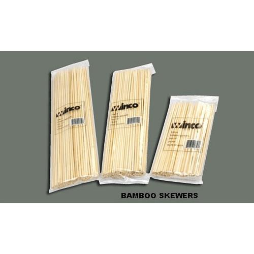 "WINCO WSK-06 Bamboo Skewer 6"""
