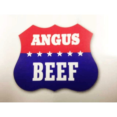 """ANGUS BEEF"" Label Sticker"