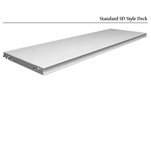 "Solid Aluminum Shelf 14"" x 48"" Direct Hook-In"