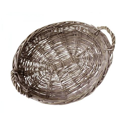 "16"" Oval Rattan Basket"