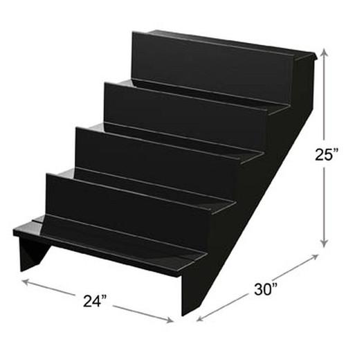"""High Profile 5 Steps Riser 24"""" x 30"""" x 25"""""""