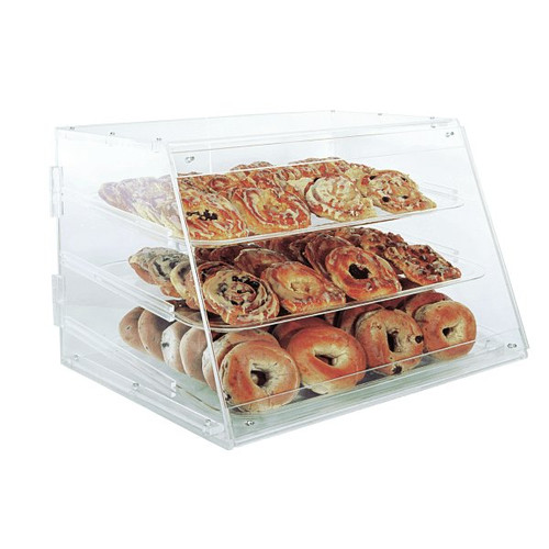 "UPDATE APB-2117 Pastry Display Case 21"" x 17"""