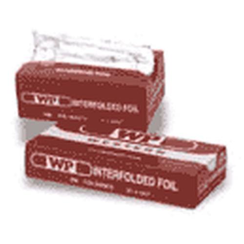 Western Plastic 632 Foil Wrap Sheet 9 X 10.75 Inch Interfolded