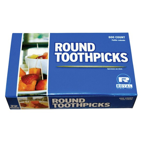 Round Wooden Toothpicks