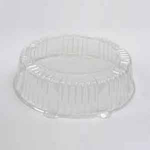 "CaterLine A18PETDM Catering Tray Clear Dome Lid 18"" Round"