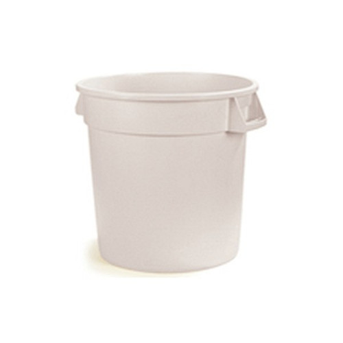 Continental 2000WH 20 Gallon White Garbage Can