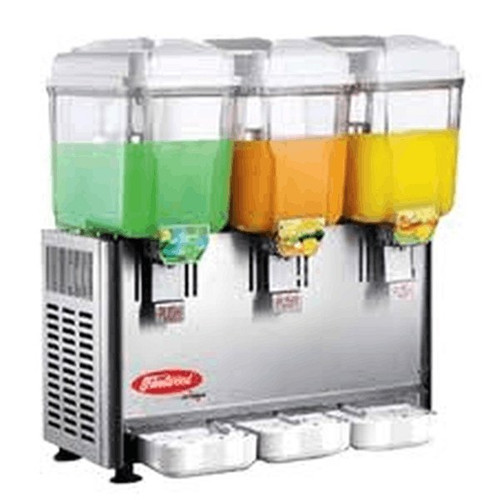 Fleetwood SL003-3P 3-Bowl Refrigerated Drink Dispenser